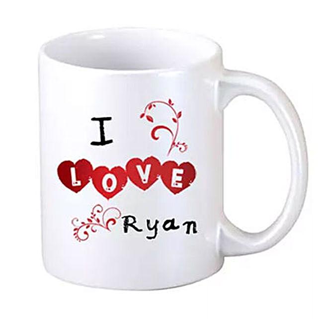 I Love You Coffee Mug