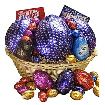 Irresistible Assorted Chocolates Easter Hamper