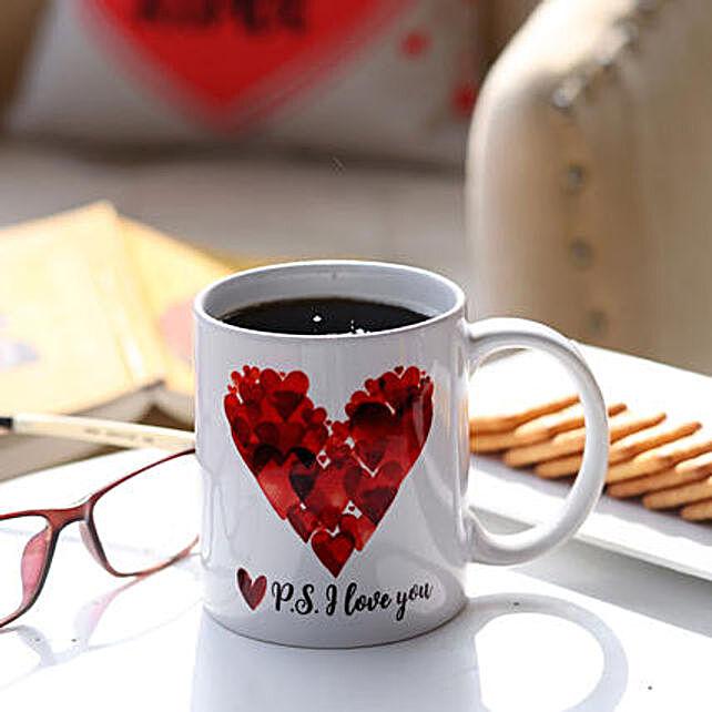 P S I Love You Printed Mug