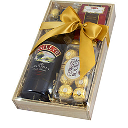 Tasty Love Baileys Irish Cream And Chocolates