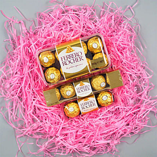 Ferrero Rocher Bhaidooj Hamper:Best Chocolate Shop in Australia
