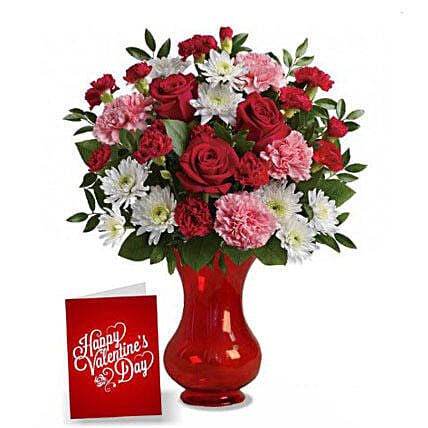 Valentine Flowers For Your Love:Send Mixed Flowers To Australia