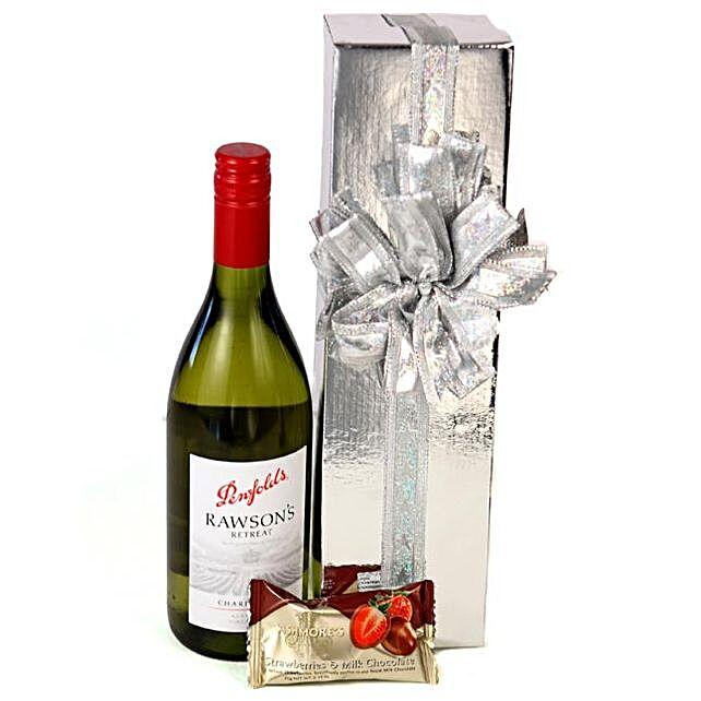 White Wine Christmas Hamper:Friendship Day