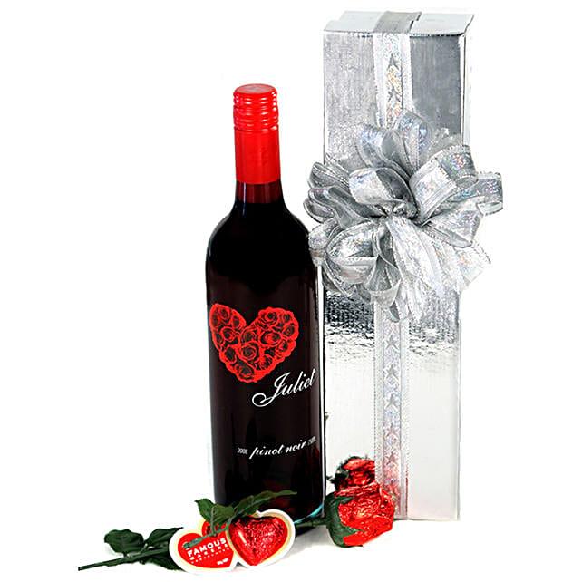 Wine N Chocolates Hamper