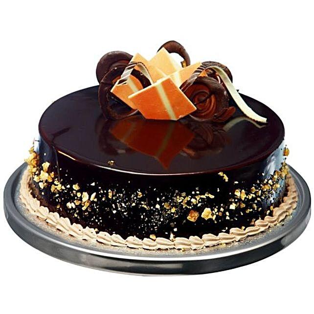 Chocolate Truffle Praline Cake