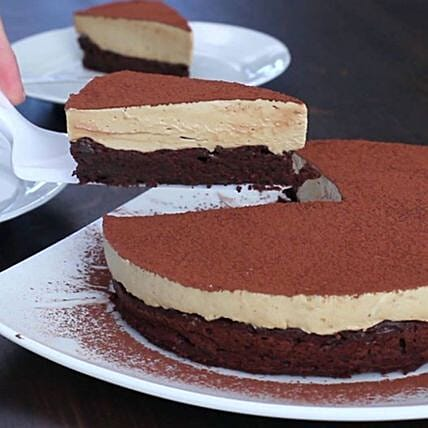Coffee Mousse Chocolate Cake