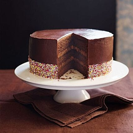 Triple Chocolate Cake:Send Gifts to Bahrain