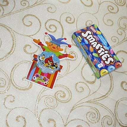Angry Birds Rakhi With Smarties