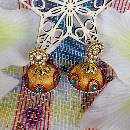 Attractive Thread Earrings