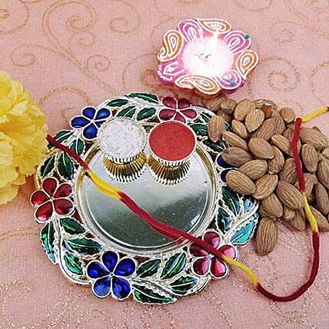 Beautiful Thali Of Good Luck