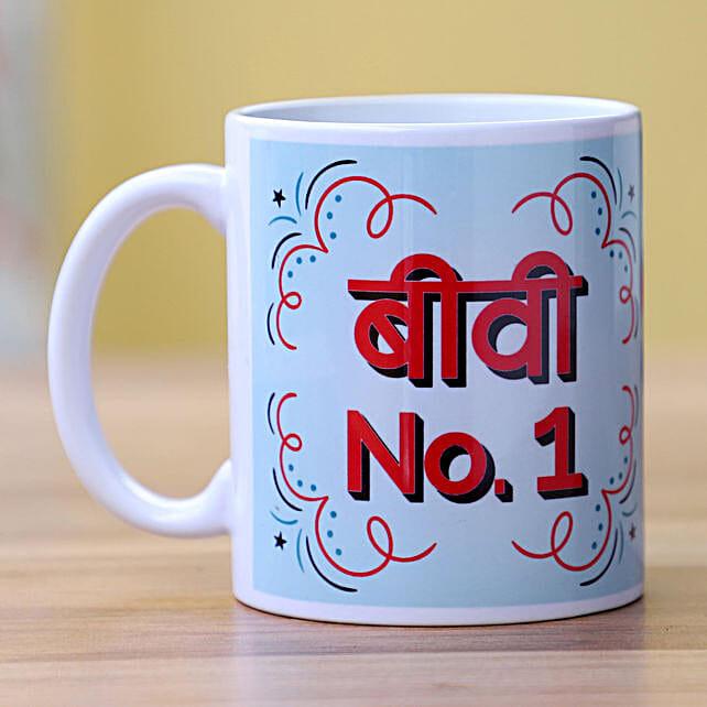 Personalised Coffee Mug for Wife