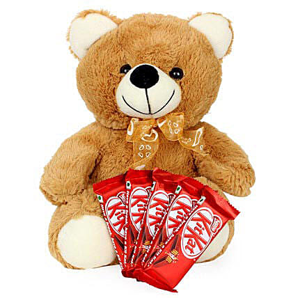 Brown Teddy N Chocolate Combo