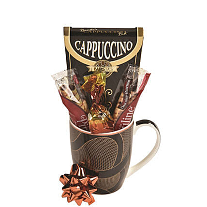 Cappuccino Sampler:Chocolate Gift Baskets in Canada