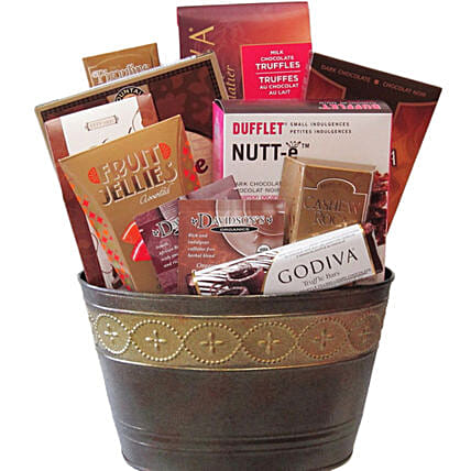 Choco Delight Gift Basket