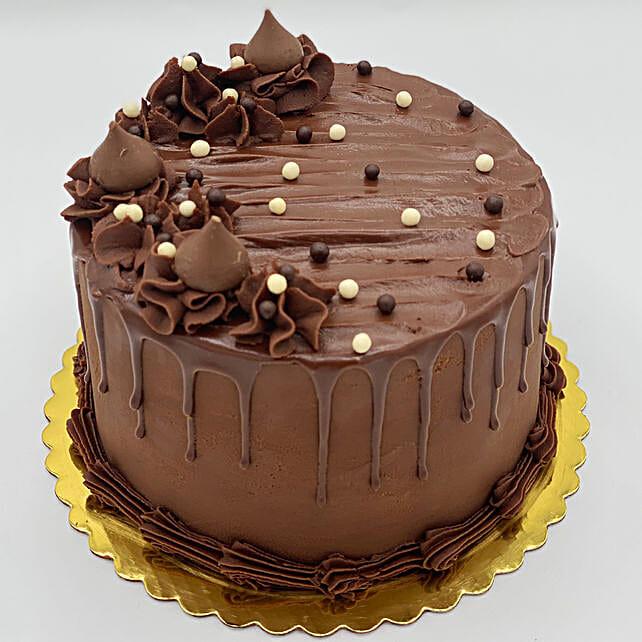 Chocolate Fantasy Eggless Cake