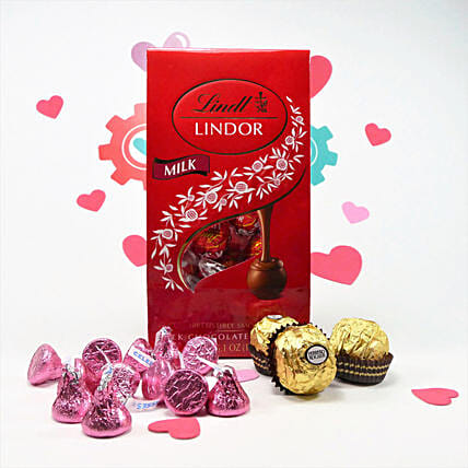 Chocolates Combo With Message Card:Send Chocolate to Canada