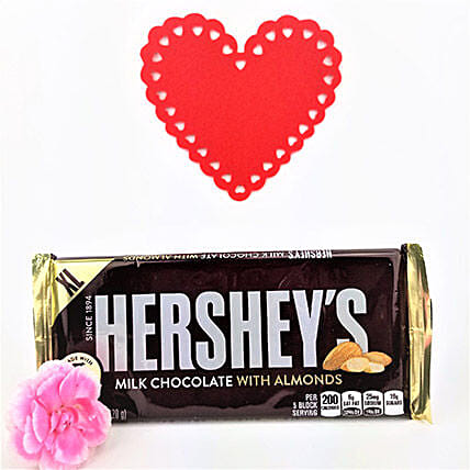 Classic Hersheys Almond Chocolate:Gift Delivery in Canada for Men