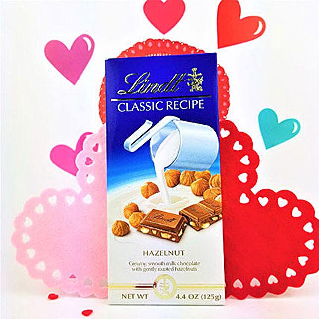 Classic Lindt Hazelnut Chocolate