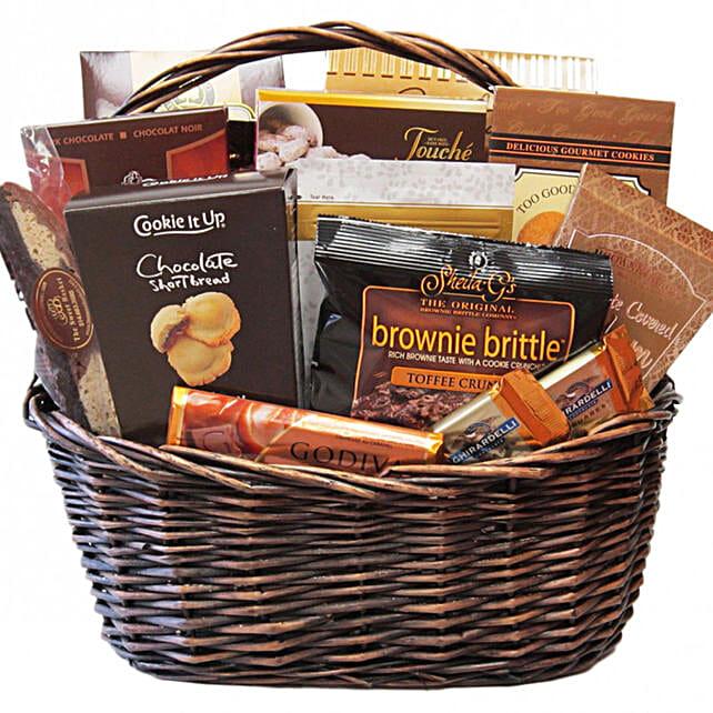 Delectable Shiva Comfort Food Basket