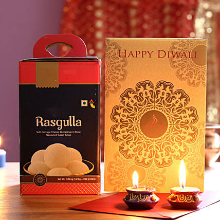 Diwali Celebrations With Rasgulla