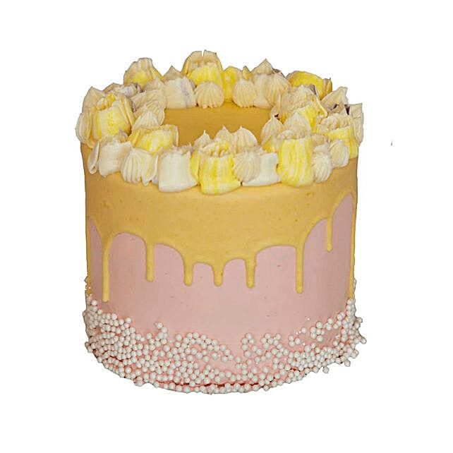 Elder Flower Bergamot Cake 6 to 5 Tall