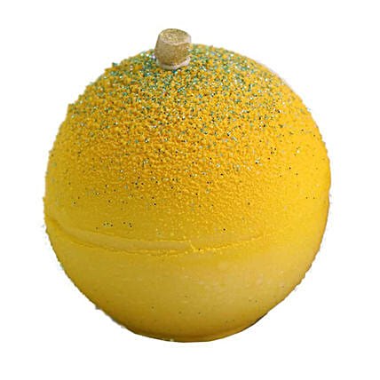 Exotic Zesty Lemon Mousse Ball:Xmas Cake Delivery in Canada