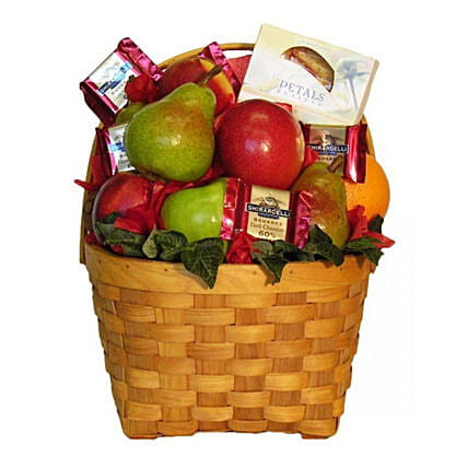 Get Healthy Fruit Basket:Send Thanksgiving Gifts to Canada