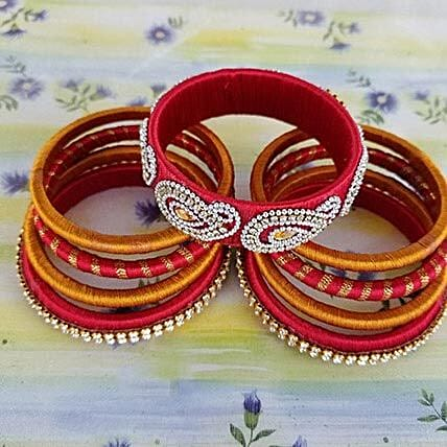 Gorgeous Thread Bangles