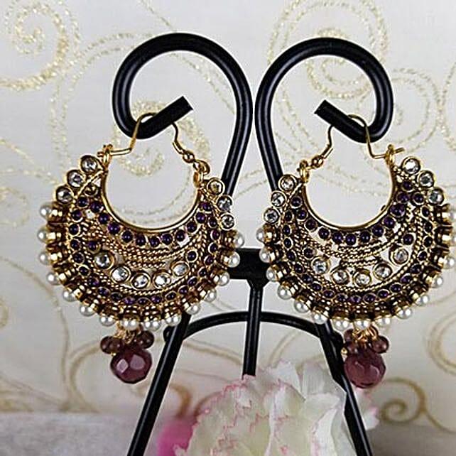 Graceful Antique Earrings