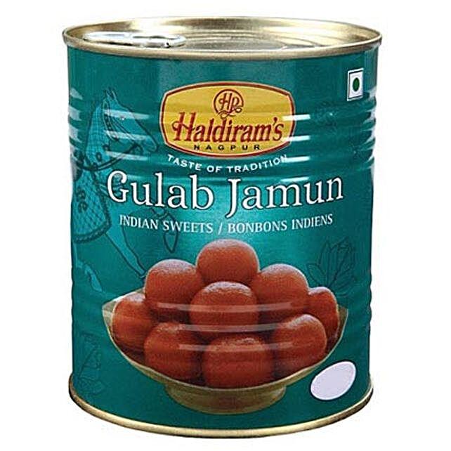 Haldiram Gulab Jamun 1 Kg:Sweets Delivery in Canada