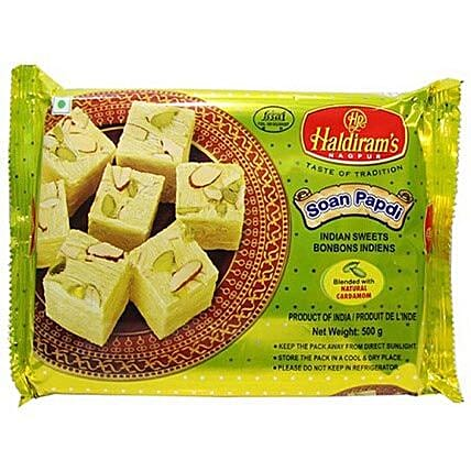 Haldiram Soan Papdi 400 Gms:Gifts for Mother in Canada