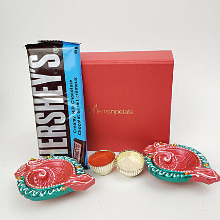 Hershey'S And Diyas For Diwali