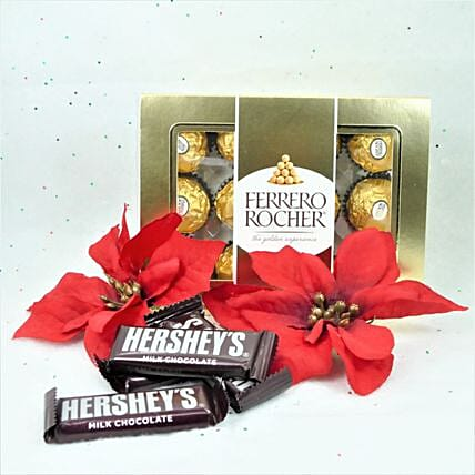Hersheys And Ferrero Rocher Love Gift:All Gifts