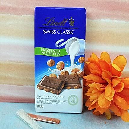 Lindt Swiss Classic Haselnut Chocolate N Tikka:Send Gifts for Kids to Canada