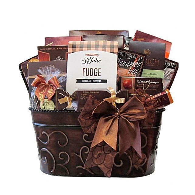 Luxury Chocolate Gift Basket