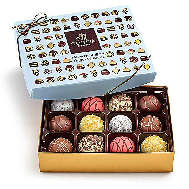 Luxury Dessert Box By Godiva