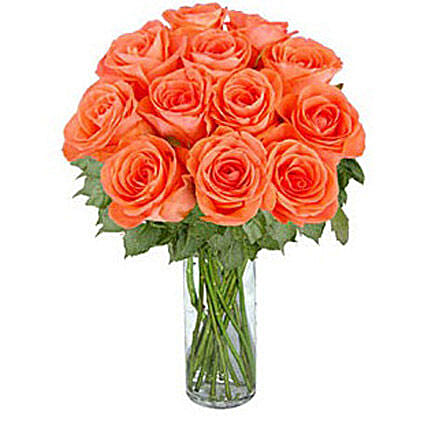 Orange Roses:Send Roses to Canada