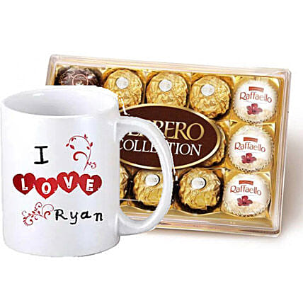 Personalised Expression Of Sweet Love:Anniversary Gift Delivery in Canada