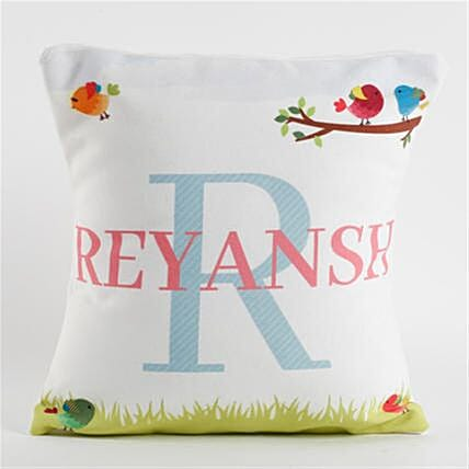 Personalised Name and Alphabet Cushion