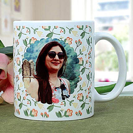 Personalised Woman Power Photo Mug