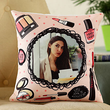 customised photo cushion for her:Personalised Gifts to Canada