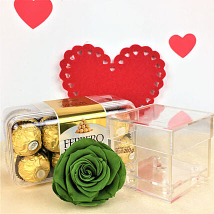 Rochers With Forever Rose:Send Forever Roses to Canada