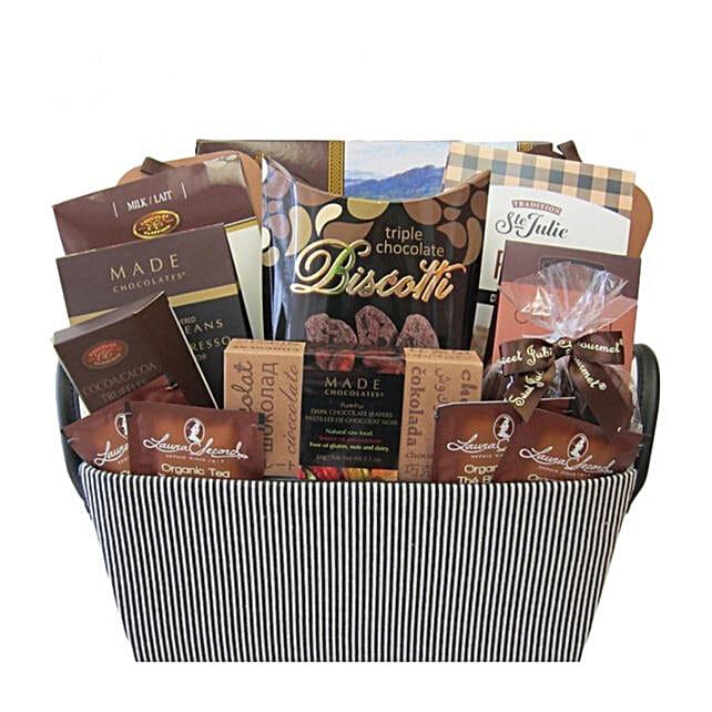 Say It Sweetly Chocolate Basket