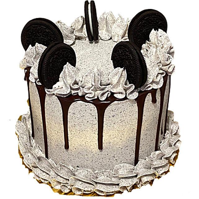 Scrumptious Cookies Cream Cake