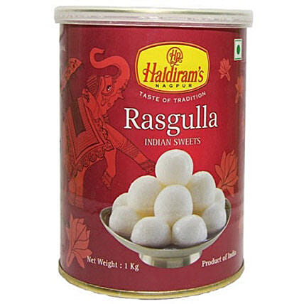 Squeezy Rasgulla 1 Kg:Sweets Delivery in Canada