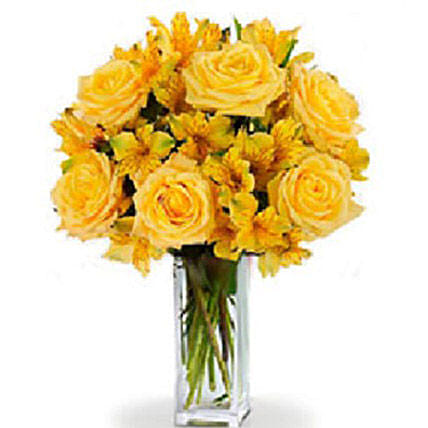 Sunlight Bouquet:Flower Arrangements in Canada