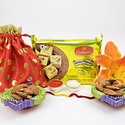 Sweet And Healthy Diwali-Bhai Dooj Gift Combo