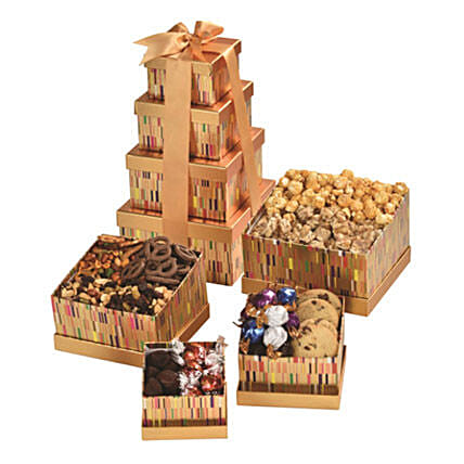 Temptation Tower:Chocolate Gift Baskets in Canada