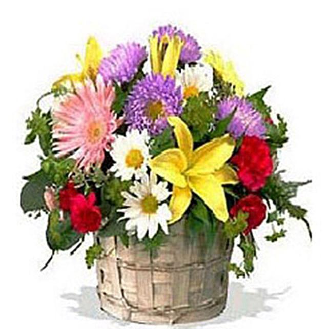Eternal Basket:Lilies