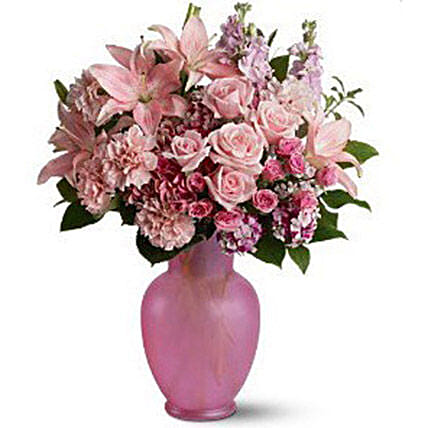 Pretty Pink Flowers:Lilies